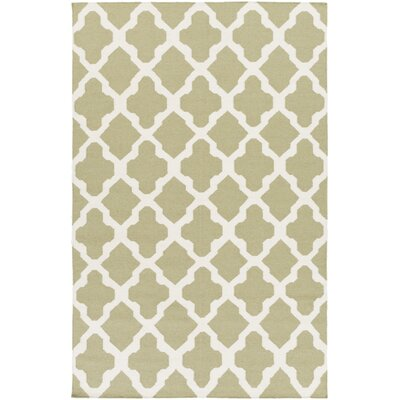 Bangor Sage Geometric Area Rug Rug Size: Rectangle 3 x 5