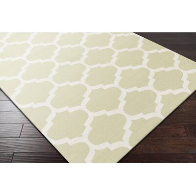 Vogue Sage Geometric Everly Area Rug Rug Size: 3 x 5