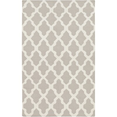 Bangor Gray Geometric Area Rug Rug Size: Rectangle 9 x 12