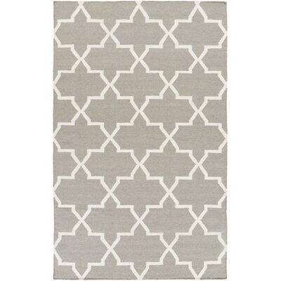 York Charcoal Geometric Reagan Area Rug Rug Size: 4 x 6