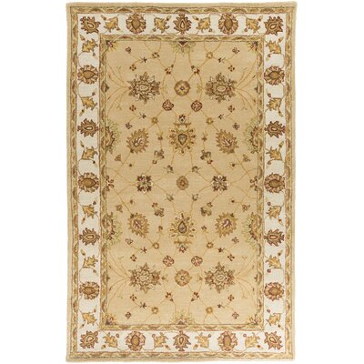Plemmons Beige Area Rug Rug Size: Rectangle 2 x 3