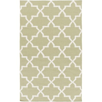 Bangor Sage Geometric Area Rug Rug Size: Rectangle 5 x 8