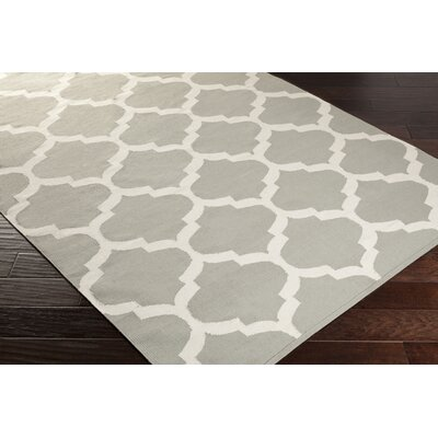 Bohannon Gray Geometric Area Rug Rug Size: Rectangle 9 x 12