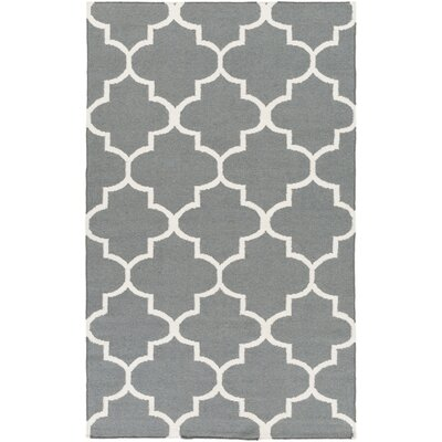 Bangor Charcoal Geometric Area Rug Rug Size: Rectangle 4 x 6