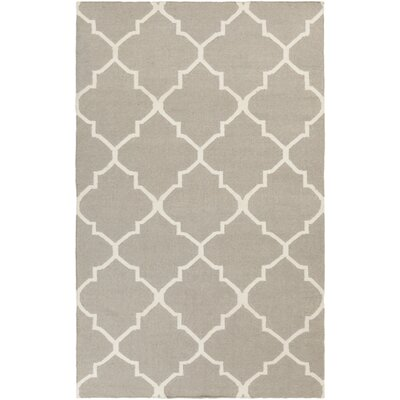 Bangor Grey Geometric Area Rug Rug Size: Rectangle 3 x 5