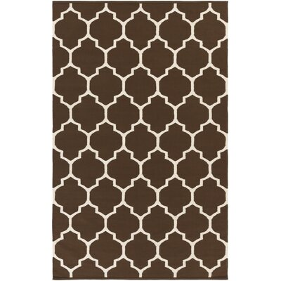 Vogue Brown Geometric Claire Area Rug Rug Size: 3 x 5