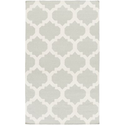 Bangor Gray Geometric Area Rug Rug Size: Rectangle 4 x 6