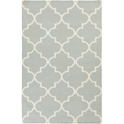 Bangor Blue Geometric Area Rug Rug Size: Rectangle 2 x 3