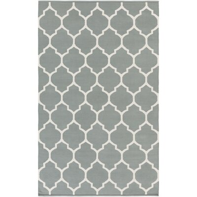 Vogue Charcoal Geometric Claire Area Rug Rug Size: 4 x 6
