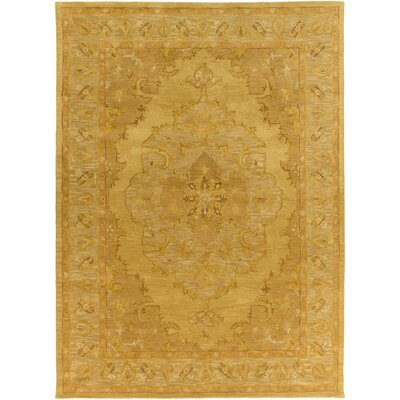 Eaddy Hand-Tufted Sunflower/Gold Area Rug Rug Size: Rectangle 5 x 8