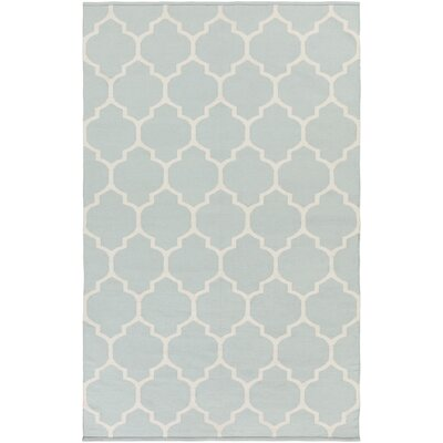 Bohannon Handmade Gray Geometric Area Rug Rug Size: Rectangle 5 x 8