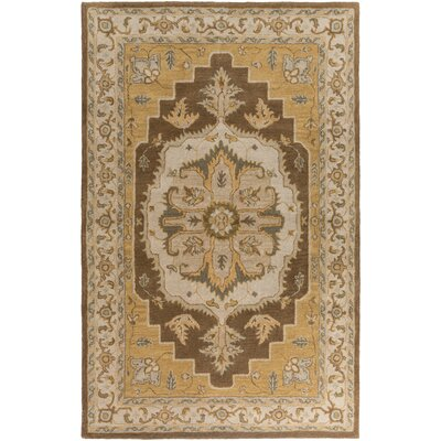 Middleton Brown Mia Area Rug Rug Size: Round 6