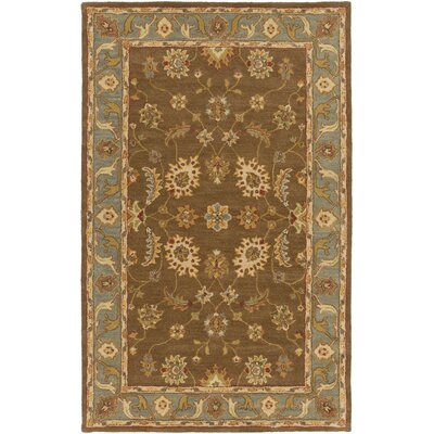 Plemmons Brown Area Rug Rug Size: Rectangle 5 x 8