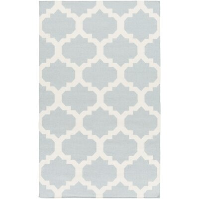 Bangor Blue Geometric Area Rug Rug Size: Rectangle 4 x 6