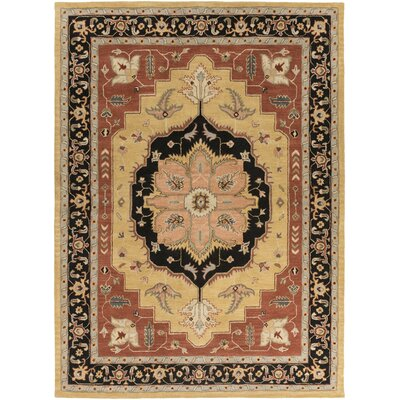 Dussault Beige Area Rug Rug Size: Rectangle 4 x 6