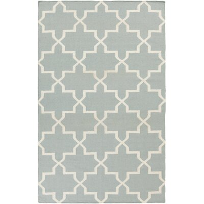 Bangor Blue Geometric Area Rug Rug Size: Rectangle 5 x 8