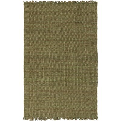 Pineda Green Area Rug Rug Size: Rectangle 8 x 10