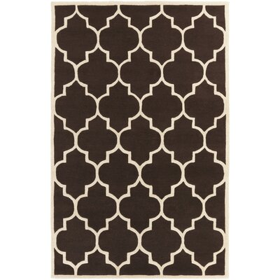 Transit Brown Geometric Piper Area Rug Rug Size: 5 x 8