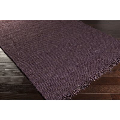 Pineda Hand Woven Purple Area Rug Rug Size: Rectangle 4 x 6