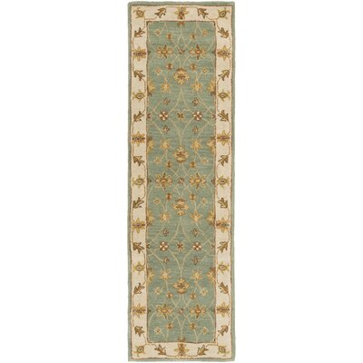 Middleton Sage Hattie Area Rug Rug Size: Runner 23 x 14