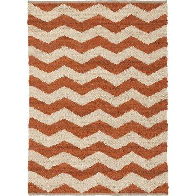 Artistic Weavers Portico Rust/Ivory Sadie Area Rug - Rug Size: 8' x 10'
