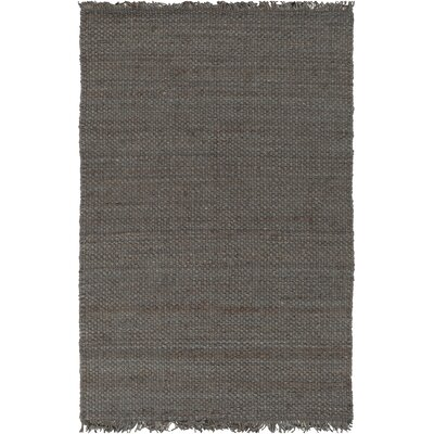 Pineda Hand Woven Gray Area Rug Rug Size: Rectangle 5 x 76
