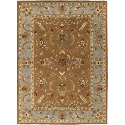 Oxford Brown Isabelle Area Rug Rug Size: 4 x 6