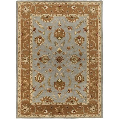 Mckelvey Blue Area Rug Rug Size: Rectangle 4 x 6