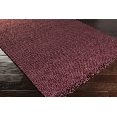 Pineda Burgundy Area Rug Rug Size: Rectangle 4 x 6