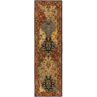 Mangrum Area Rug Rug Size: Runner 23 x 14