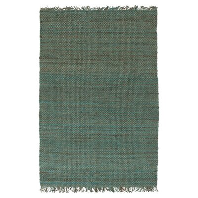 Pineda Hand Woven Blue Area Rug Rug Size: Rectangle 4 x 6