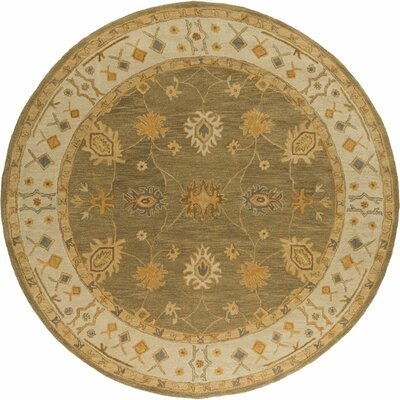 Middleton Green Willow Area Rug Rug Size: Round 36