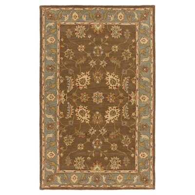 Plemmons Brown Area Rug Rug Size: Rectangle 4 x 6