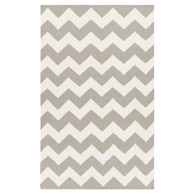 Bangor Gray Chevron Area Rug Rug Size: Rectangle 10 x 14