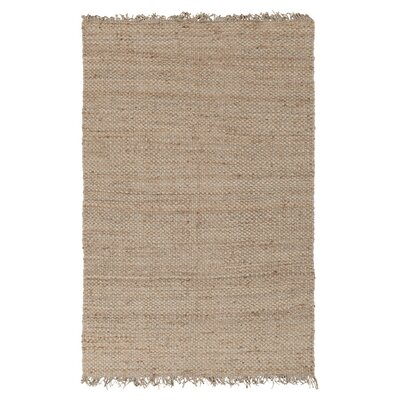 Pineda Hand Woven Beige Area Rug Rug Size: Rectangle 9 x 12