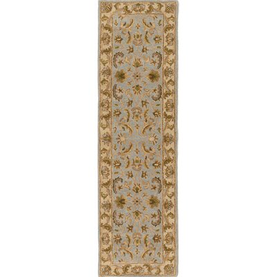 Plemmons Light Blue Area Rug Rug Size: Runner 23 x 12