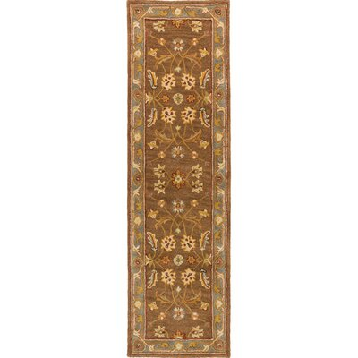Plemmons Brown Area Rug Rug Size: Runner 23 x 14