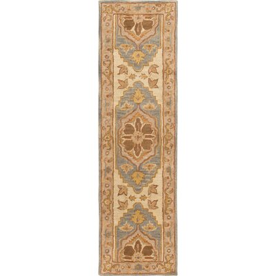 Dussault Brown Area Rug Rug Size: Runner 23 x 10