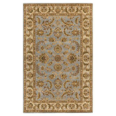 Plemmons Light Blue Area Rug Rug Size: Rectangle 76 x 96