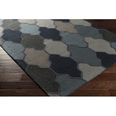 Galya Blue Area Rug Rug Size: Rectangle 4 x 6