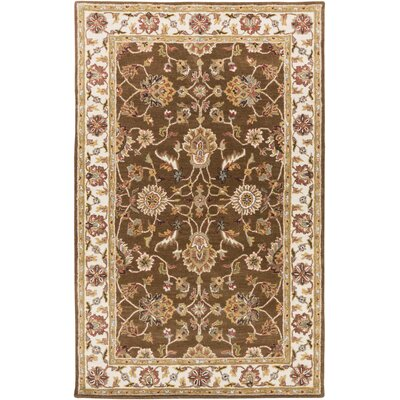 Plemmons Handmade Brown Area Rug Rug Size: Rectangle 9 x 13