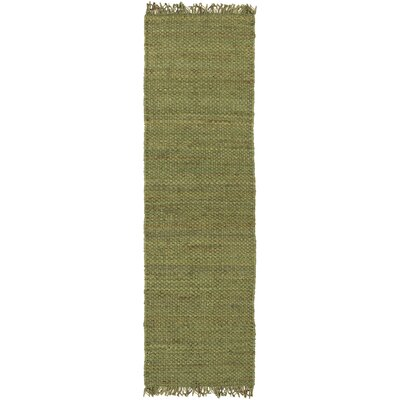 Pineda Green Area Rug Rug Size: Runner 23 x 12