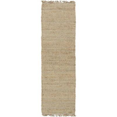 Pineda Hand Woven Beige Area Rug Rug Size: Runner 23 x 10