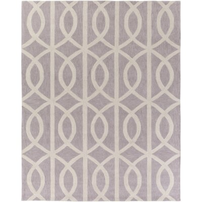 Gingrich Light Gray & Ivory Area Rug Rug Size: Rectangle 76 x 96