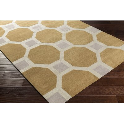 Wyche Tan Area Rug Rug Size: Rectangle 5 x 76