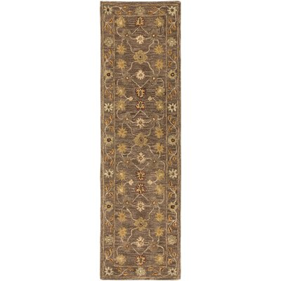 Plemmons Brown Area Rug Rug Size: Runner 23 x 8