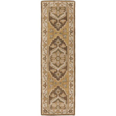 Dussault Brown Area Rug Rug Size: Runner 23 x 14