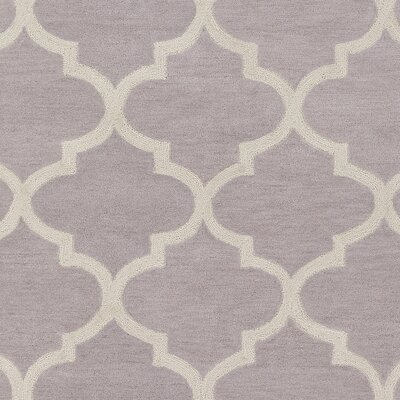 Stembert Hand-Tufted Gray/Ivory Area Rug Rug Size: Rectangle 33 x 53