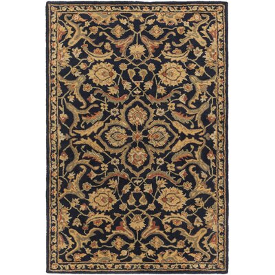 Phillip Navy Area Rug Rug Size: Rectangle 4 x 6