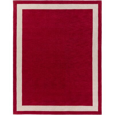 Holden Blair Red Area Rug Rug Size: 76 x 96